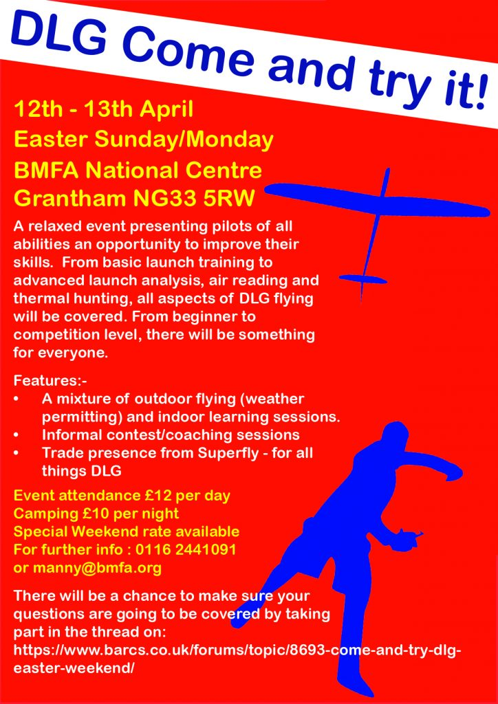 "F3K Discus Launch Glider Come and ""Try-it"" Fly-in @ BMFA Buckminster 