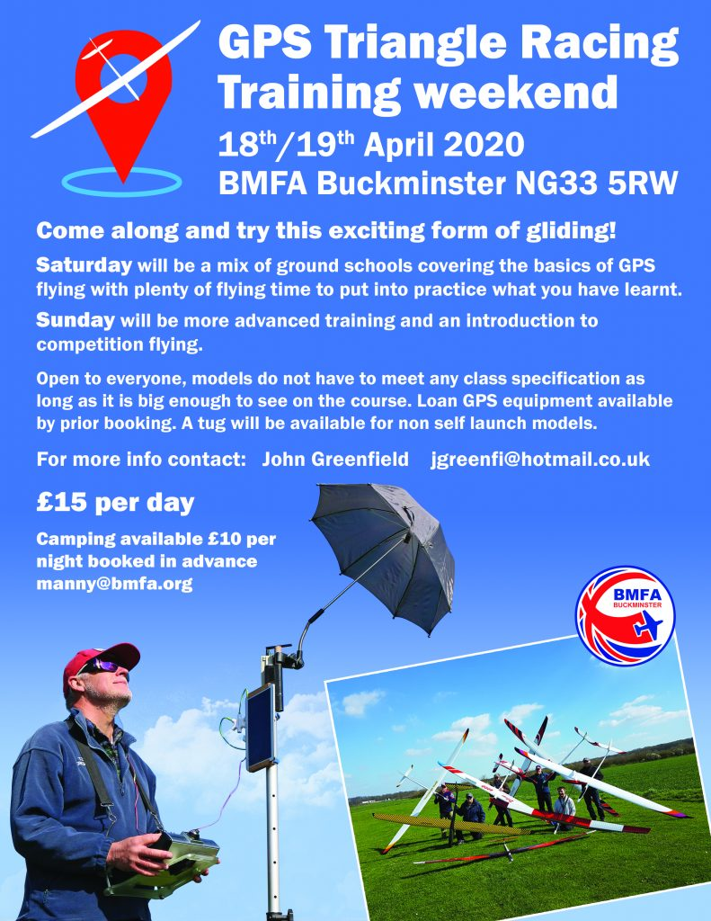 GPS Soaring Come and Try-it @ BMFA Buckminster | Sewstern | England | United Kingdom