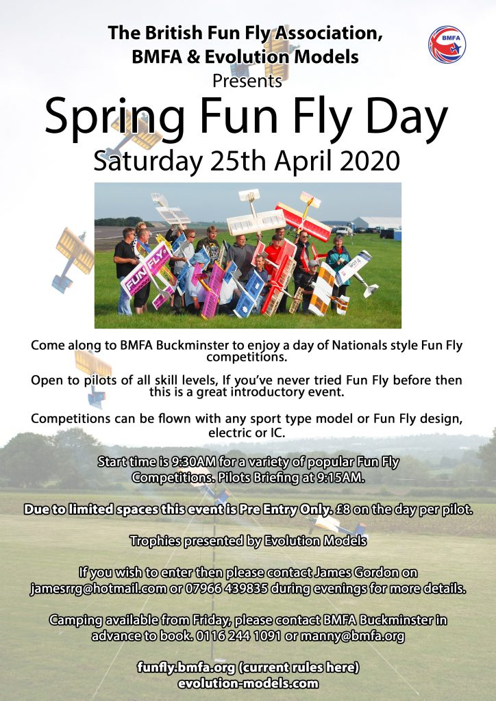 Fun Fly Come and Try/Competition @ BMFA Buckminster | Sewstern | England | United Kingdom
